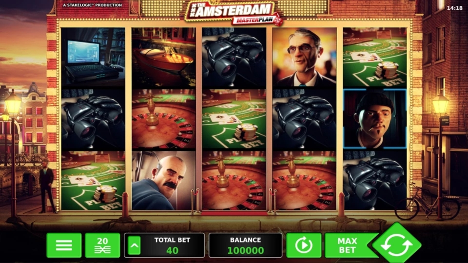 The The Amsterdam Masterplan Online Slot Demo Game by StakeLogic