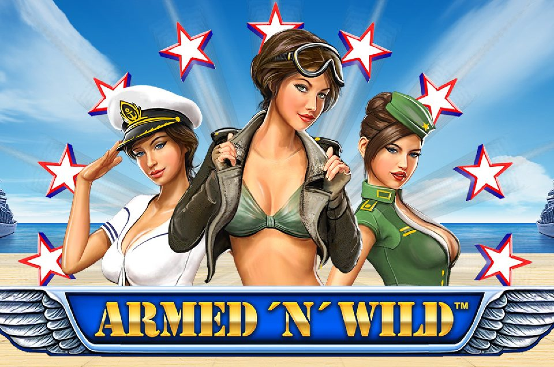 The Armed 'N' Wild Online Slot Demo Game by Synot Games