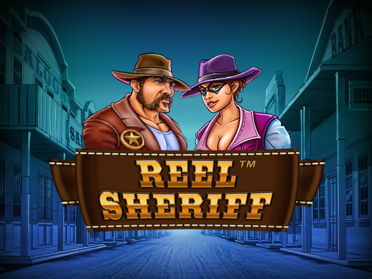 Reels in Reel Sheriff Slot Game by Synot Games
