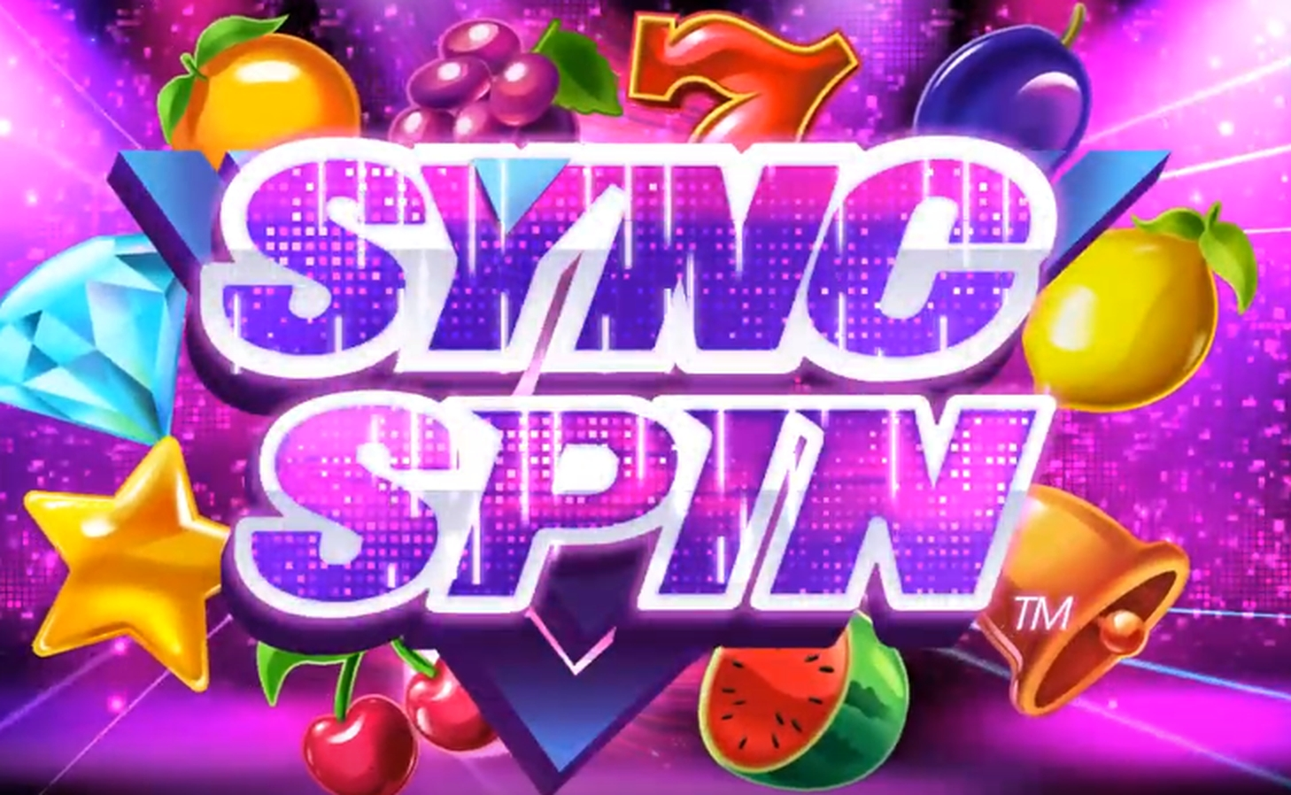 The SYNC SPIN Online Slot Demo Game by Synot Games