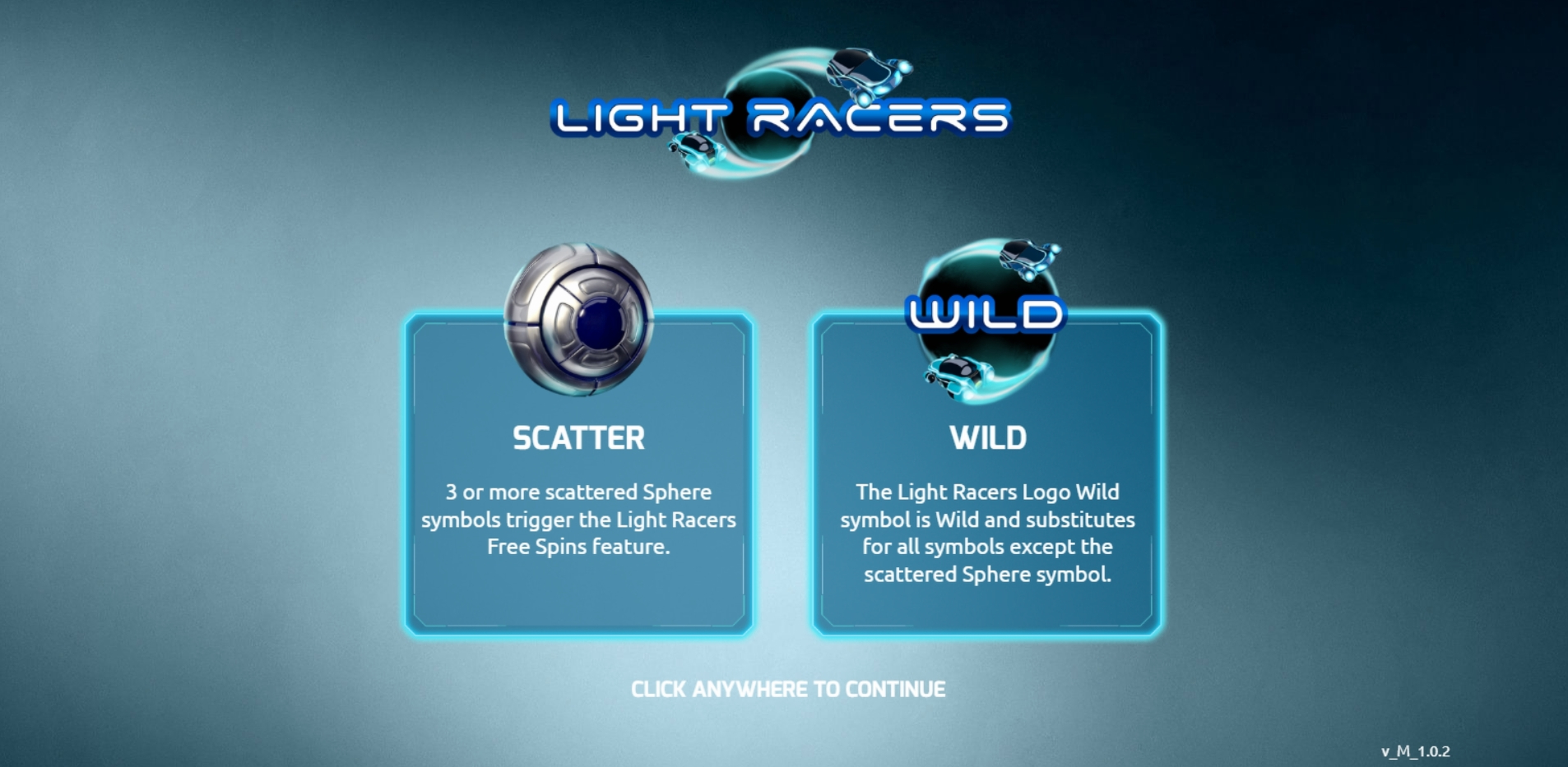 Play Light Racers Free Casino Slot Game by The Games Company