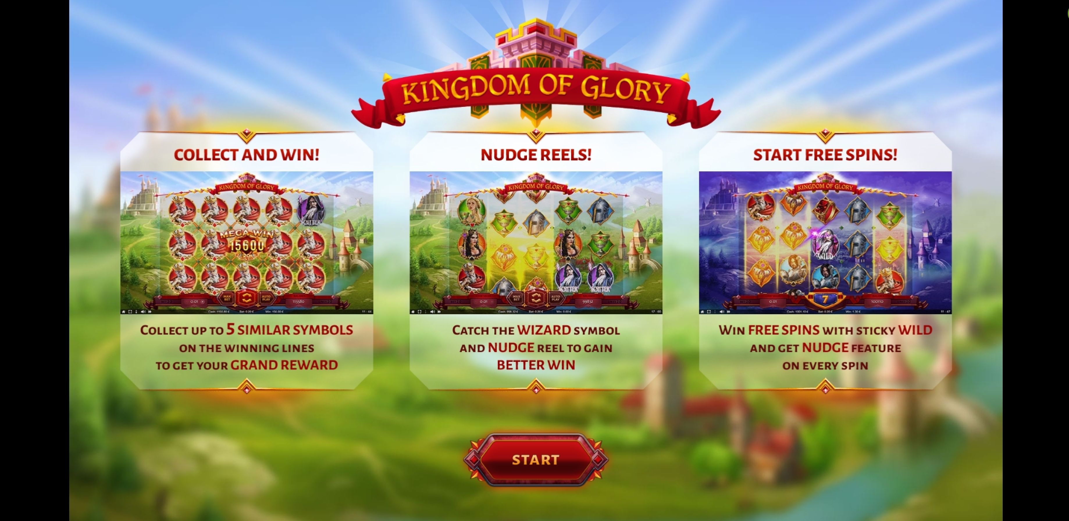 Play Kingdom of Glory Free Casino Slot Game by Thunderspin