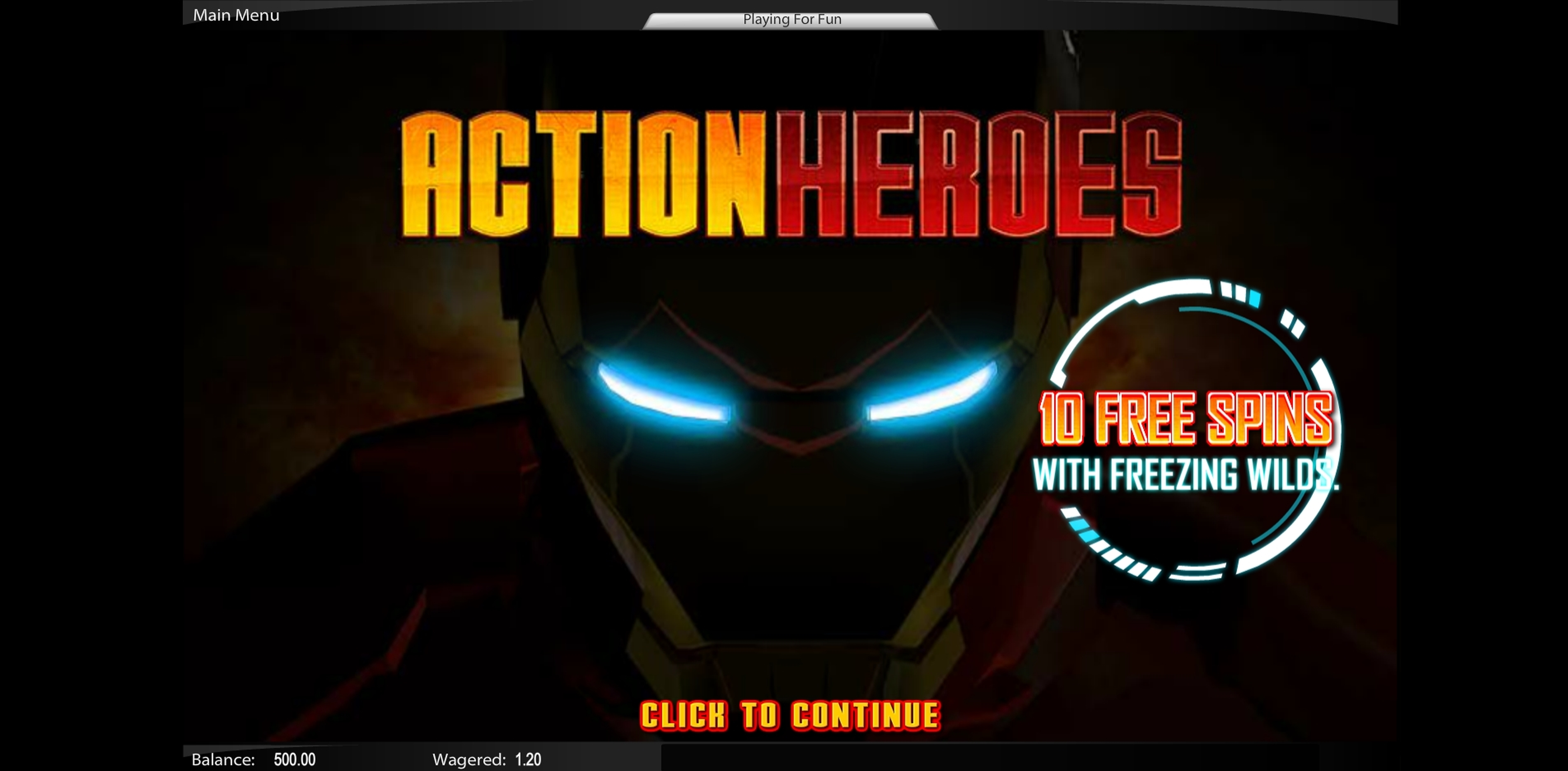 Play Action Heroes Free Casino Slot Game by Top Trend Gaming