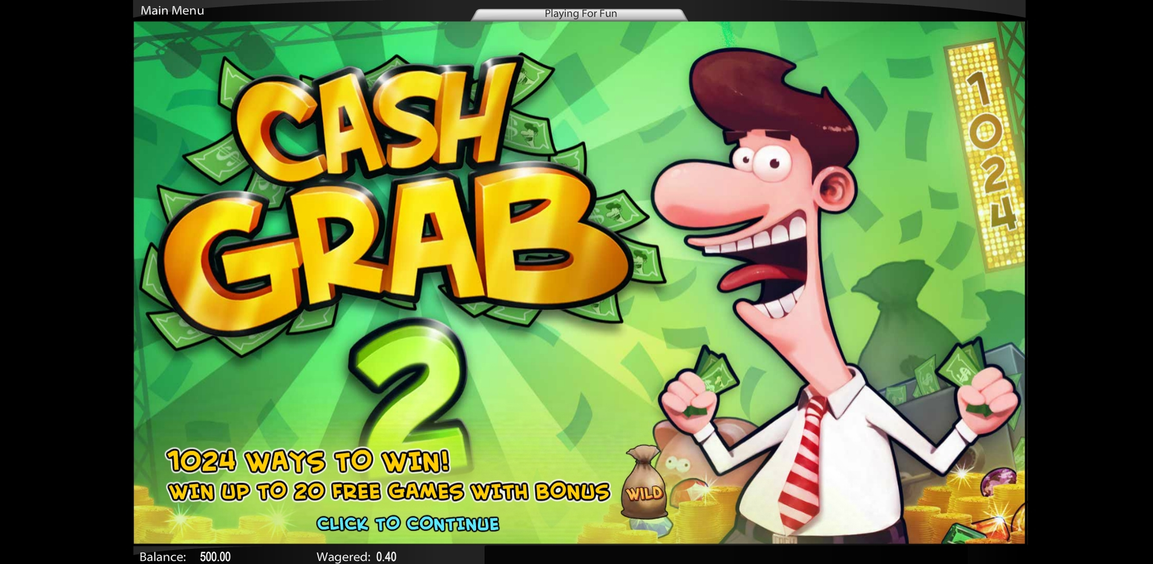 Play Cash Grab 2 Free Casino Slot Game by Top Trend Gaming