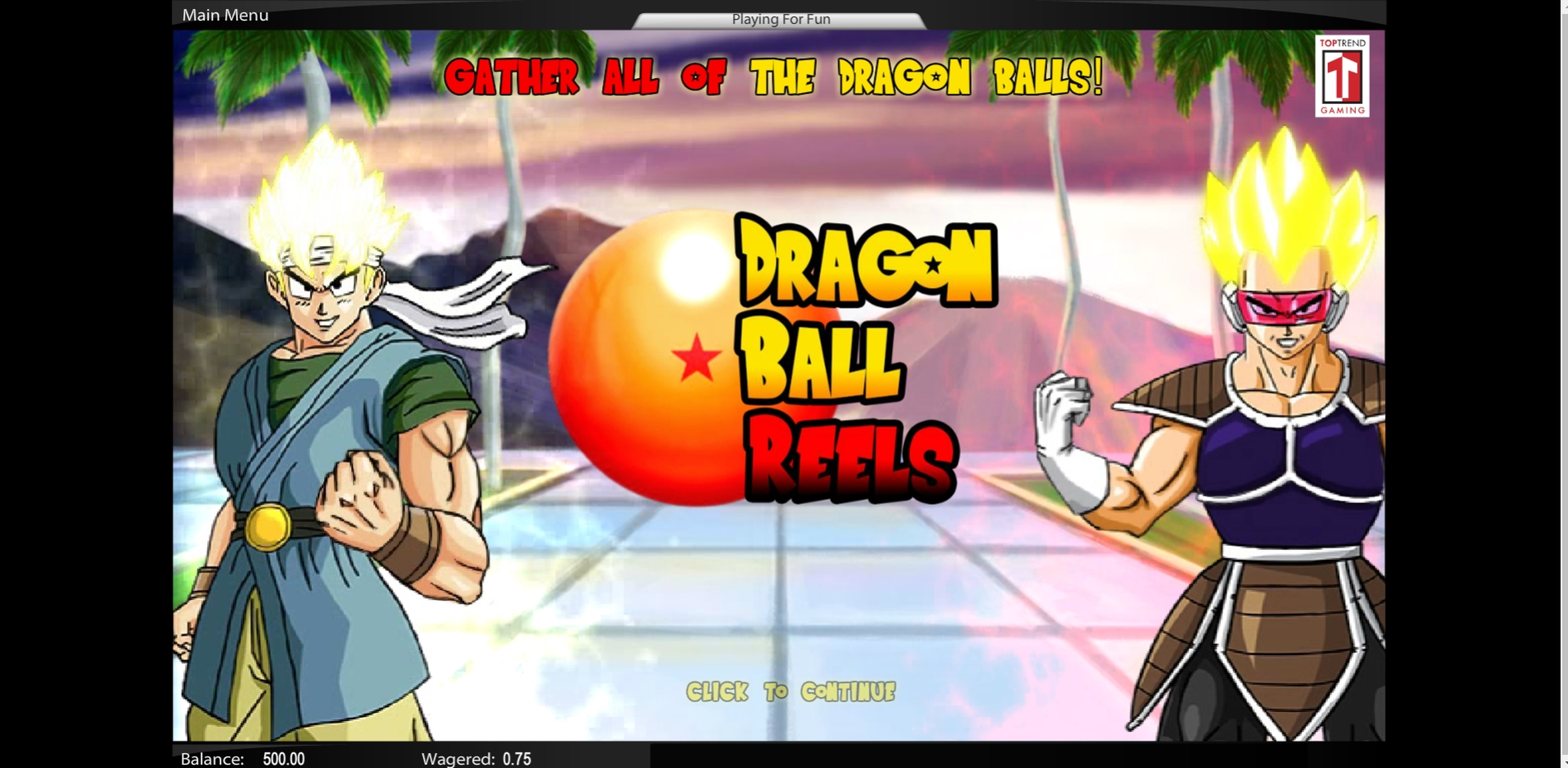 Play Dragon Ball Reels Free Casino Slot Game by Top Trend Gaming