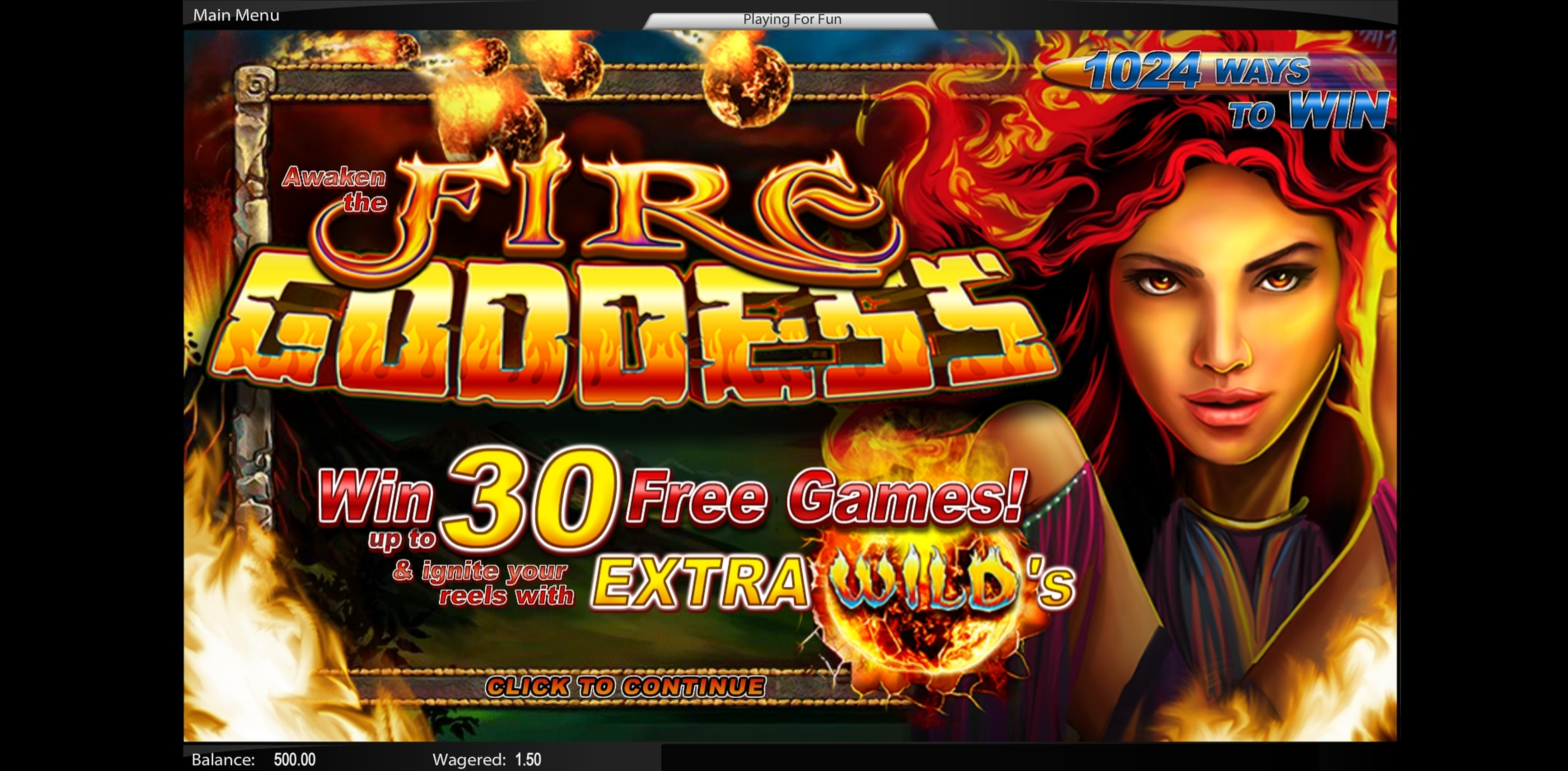 Play Fire Goddess (TopTrendGaming) Free Casino Slot Game by Top Trend Gaming