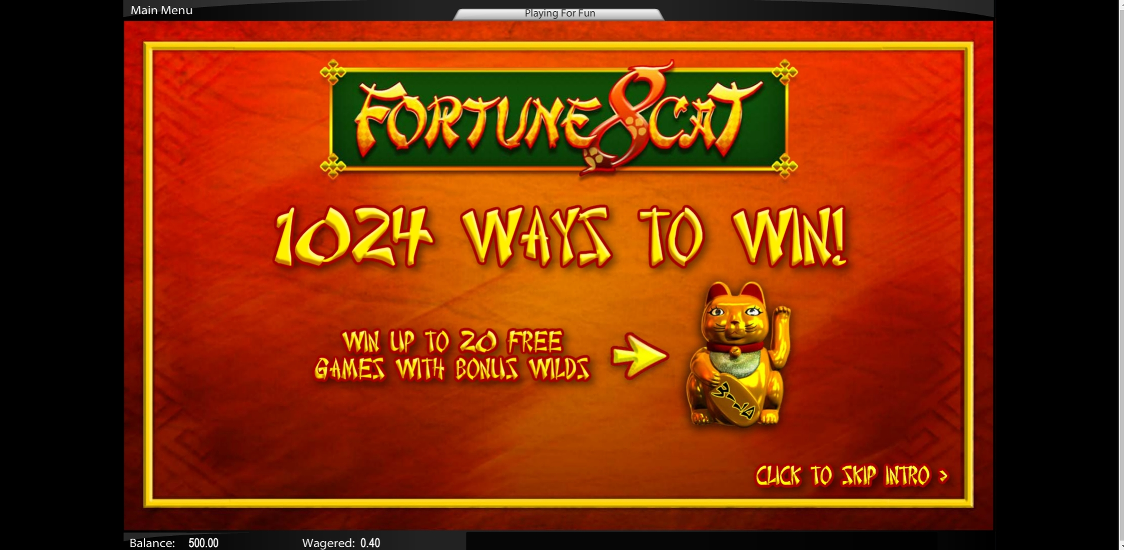 Play Fortuna 8 Cat Free Casino Slot Game by Top Trend Gaming