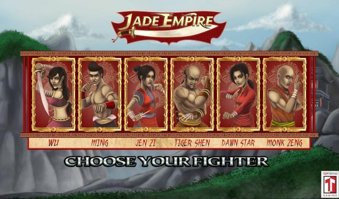 The Jade Empire Online Slot Demo Game by Top Trend Gaming