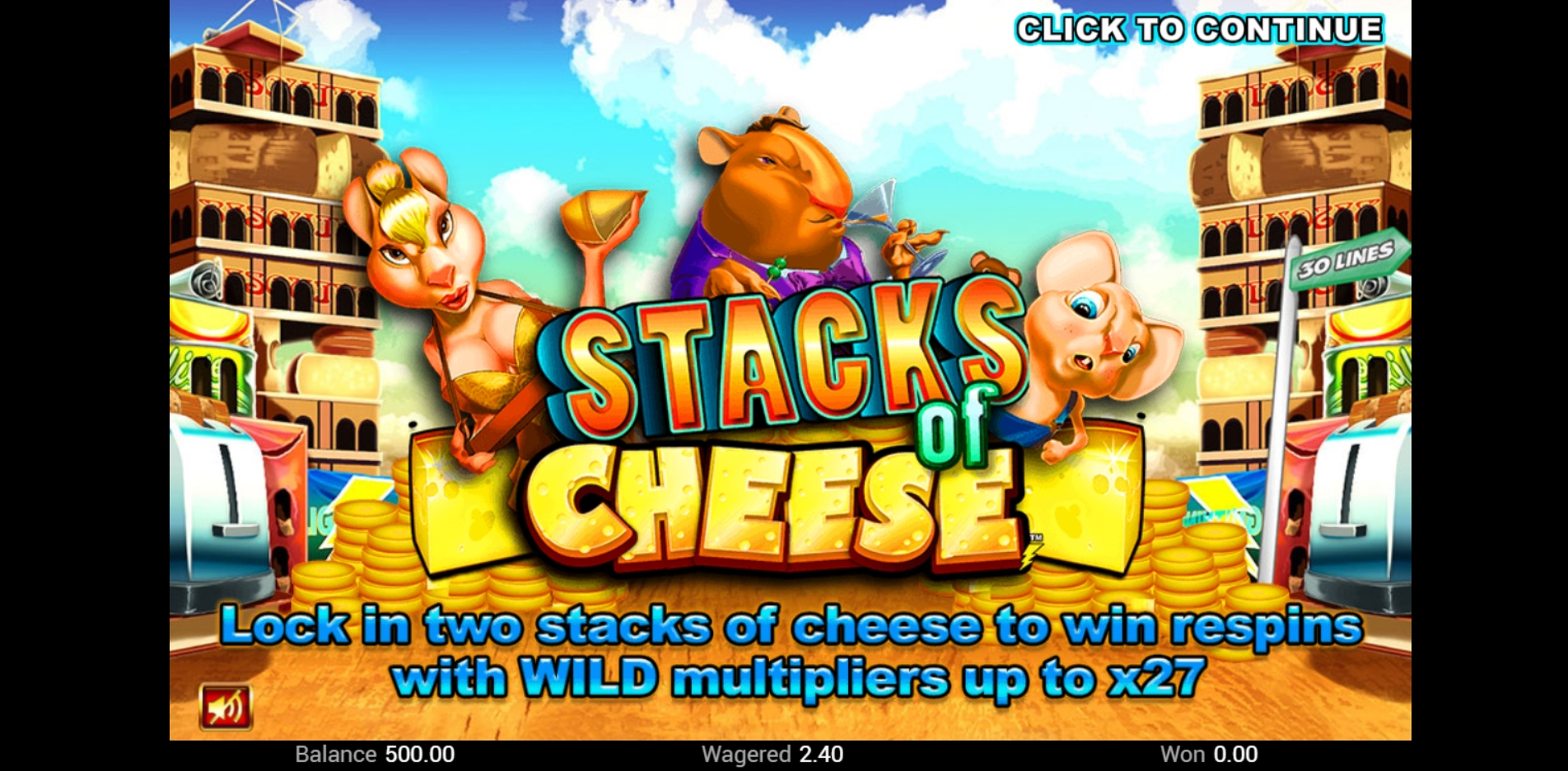 Play Stacks of Cheese Free Casino Slot Game by Top Trend Gaming
