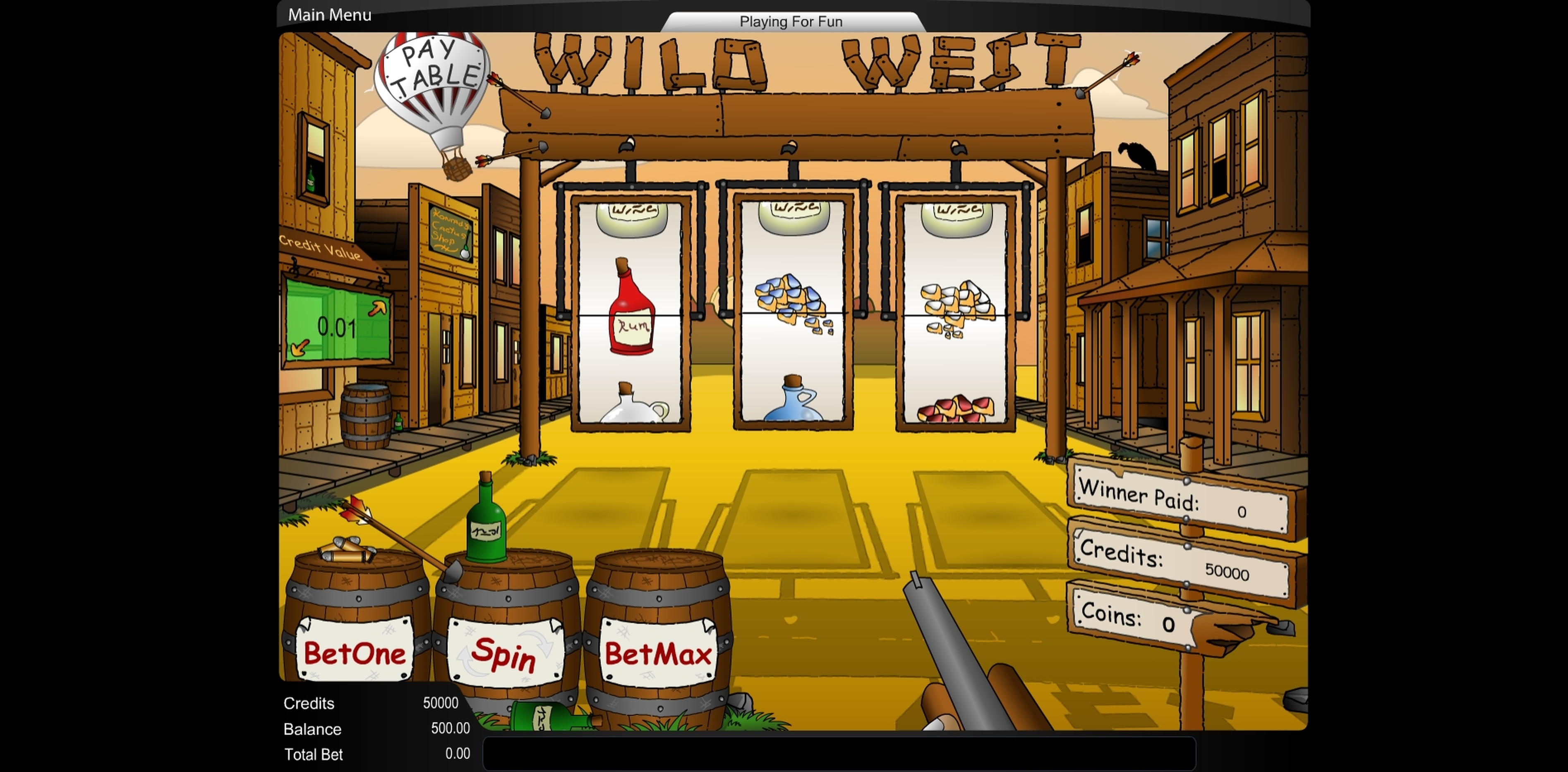 Reels in Wild West (TOP TREND GAMING) Slot Game by Top Trend Gaming