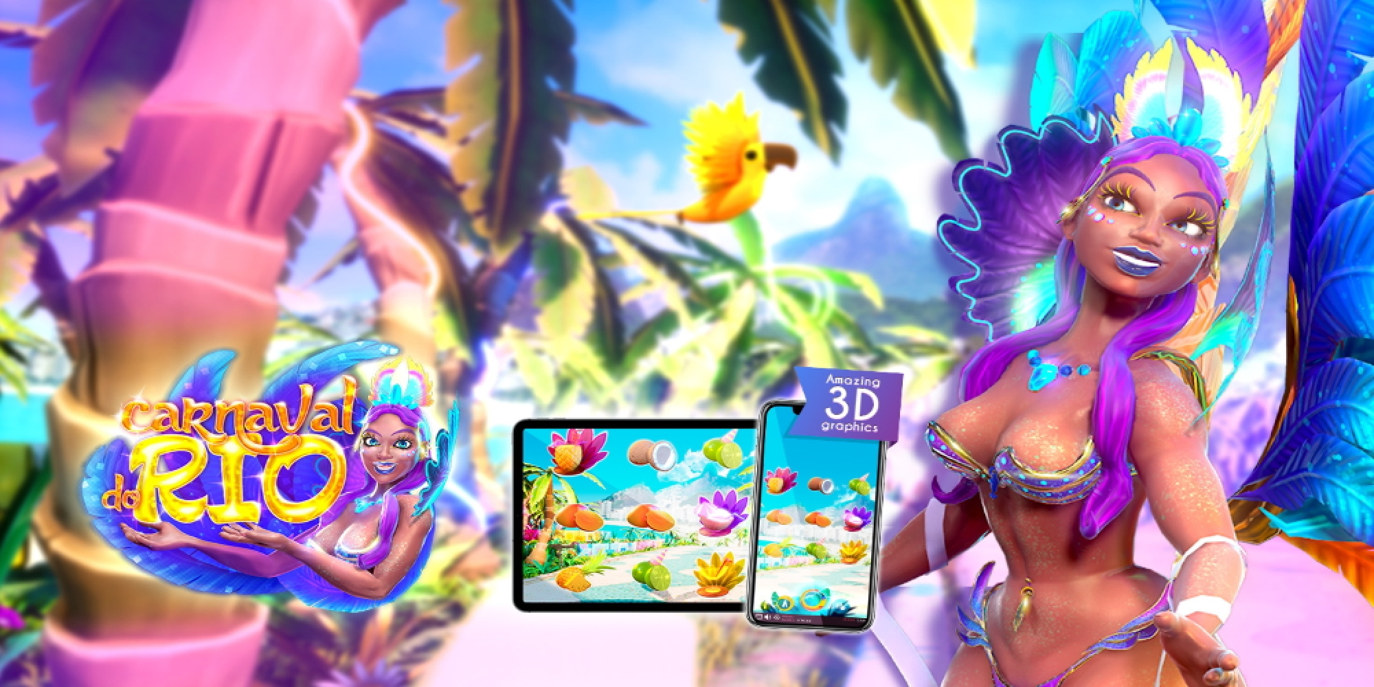 The Carnaval do Rio Online Slot Demo Game by Triple Cherry