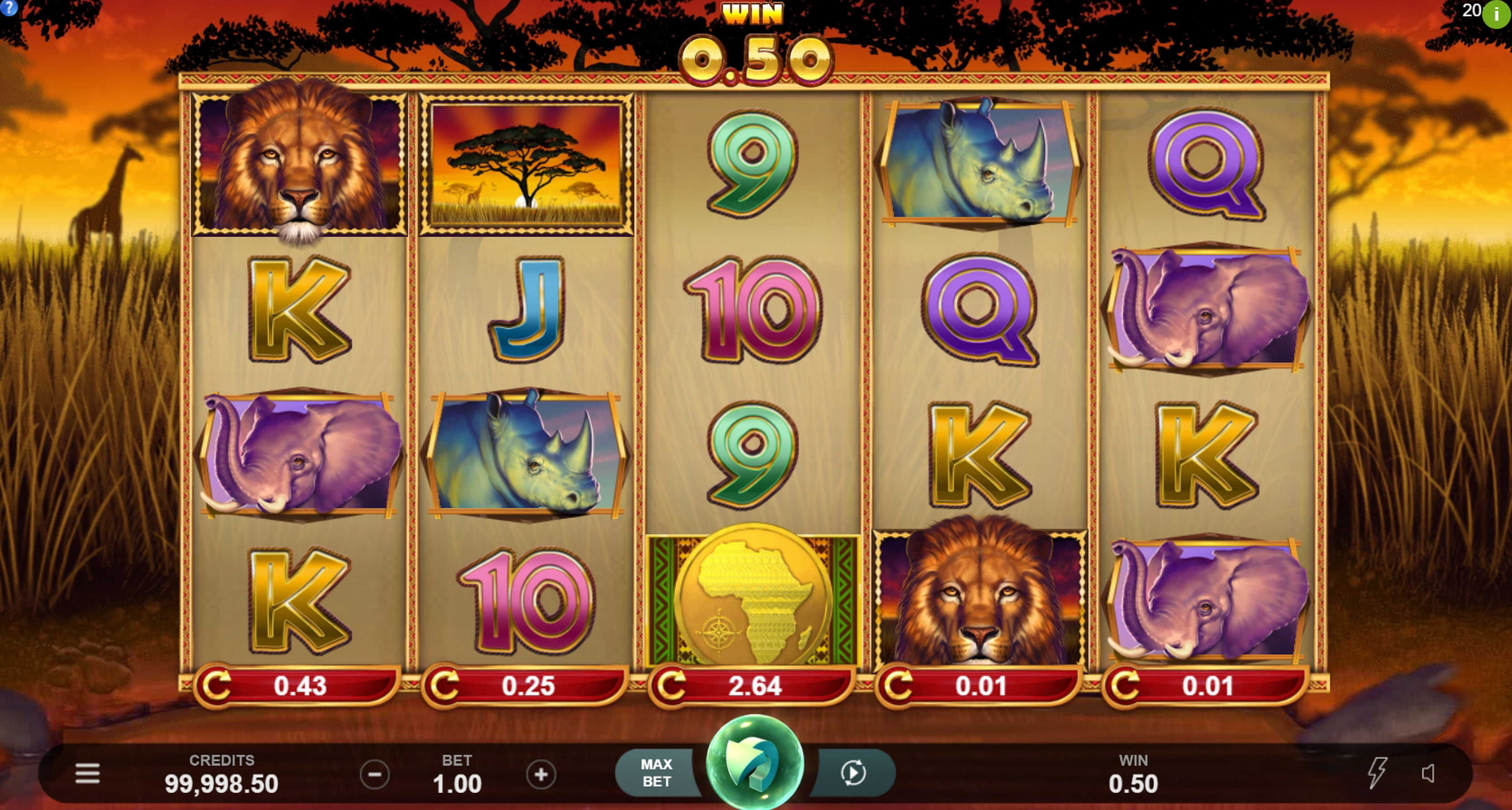 Win Money in African Quest Free Slot Game by Triple Edge Studios