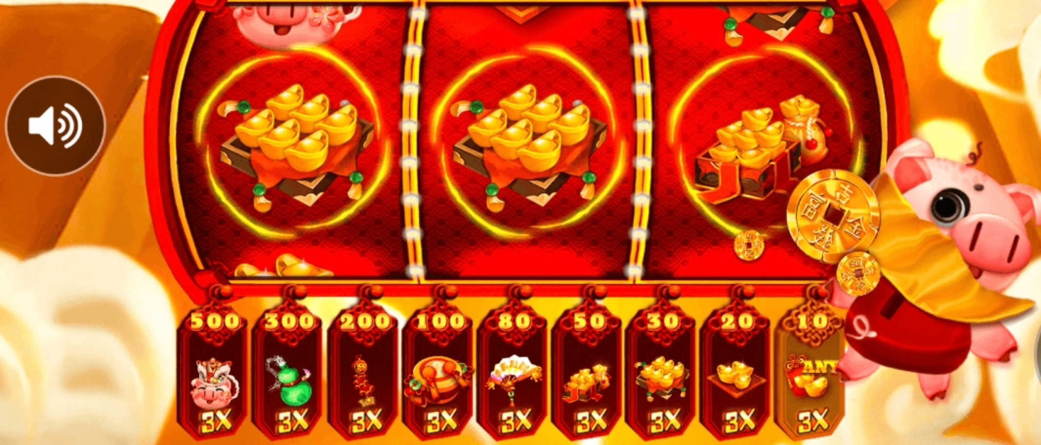 The Goldy Piggy Online Slot Demo Game by Triple Profits Games
