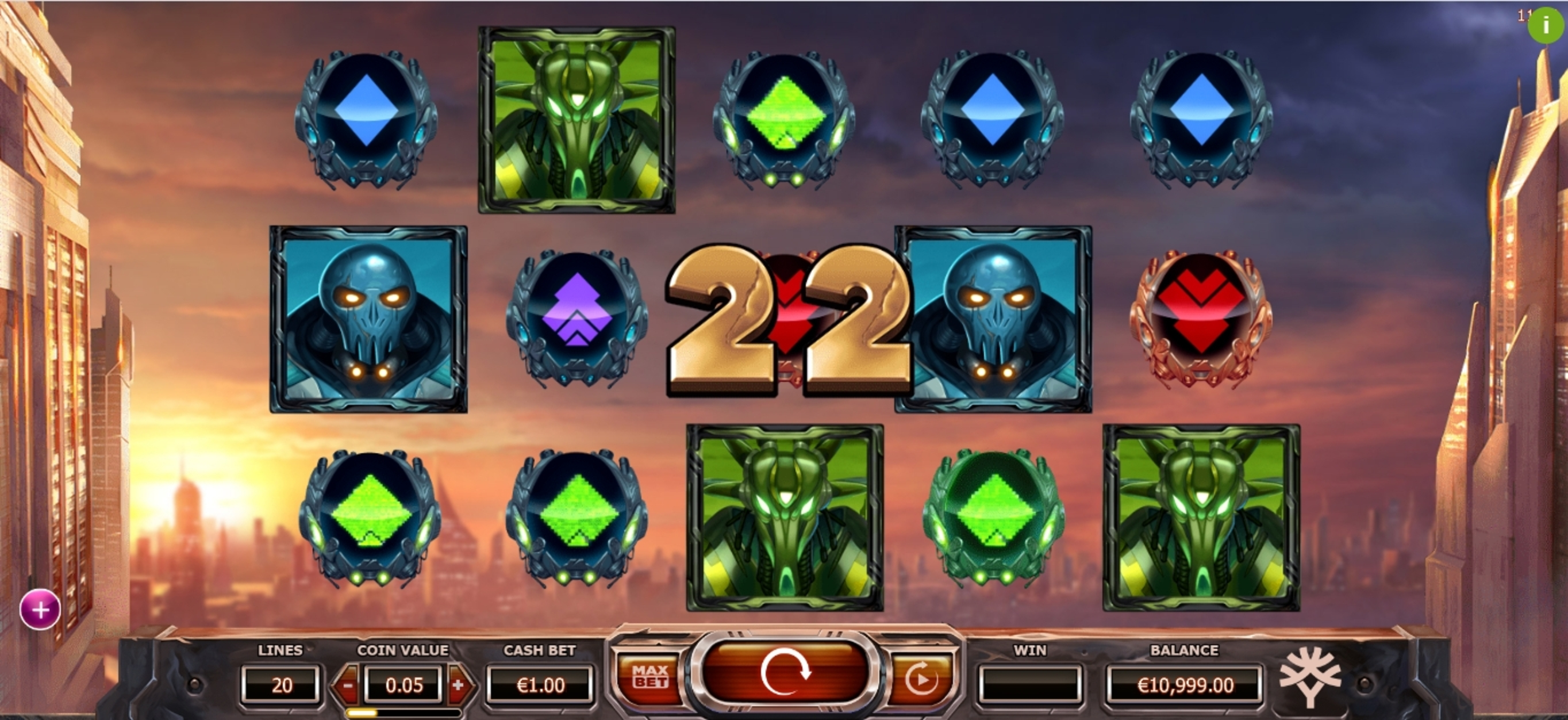 Win Money in Super Heroes Free Slot Game by Yggdrasil
